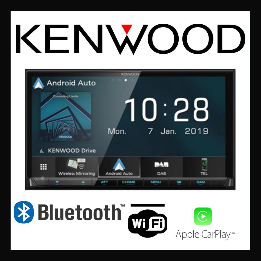 Автомобильная 2 дин магнитола Kenwood DMX-8019DABS