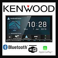 Автомобильная 2 дин магнитола Kenwood DMX-8019DABS, фото 1