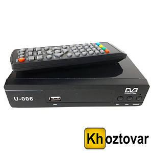 ТВ-ресивер з підтримкою Wi-Fi DVB-T2 U006