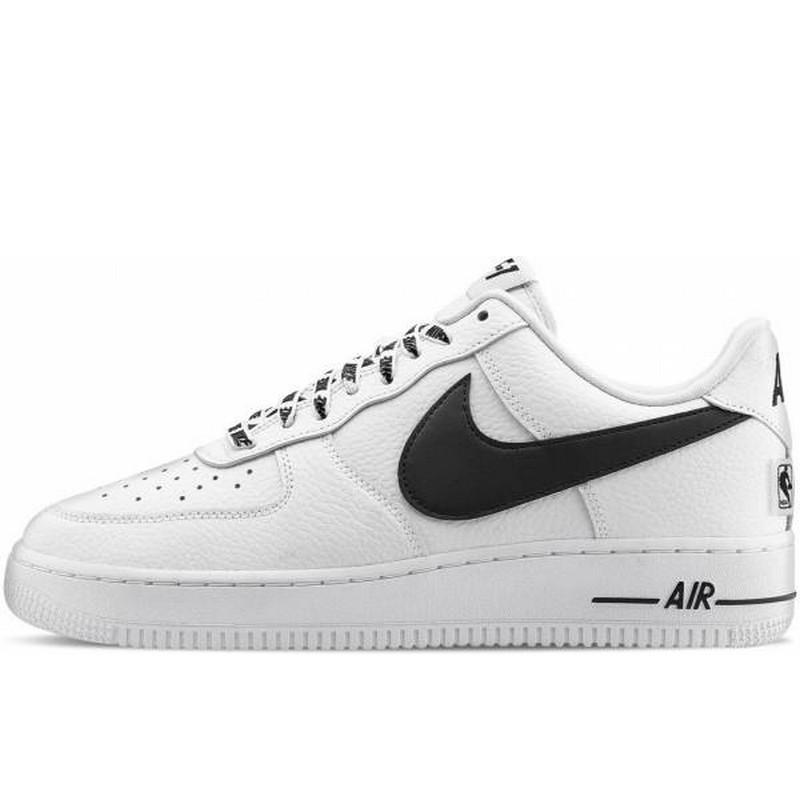 Кроссовки мужские Nike Air Force 1 Low NBA (белые) Top replic