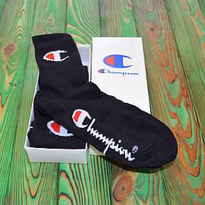 Шкарпетки комплект Champion Black / White