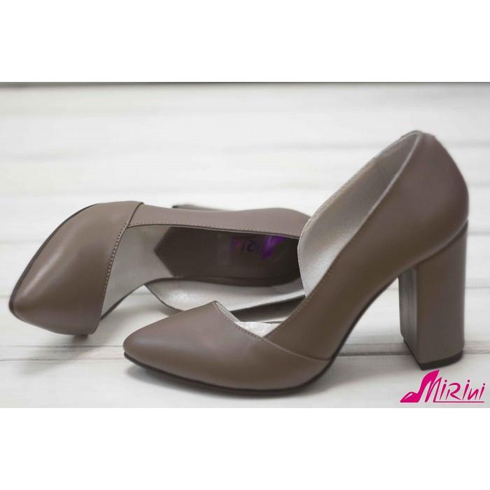 Туфли базовые бежевые