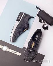 Кроссовки мужские Nike Air Max Sequent (черные-серые) Top repliс, фото 3