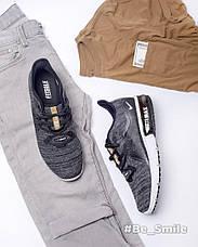 Кроссовки мужские Nike Air Max Sequent (черные-серые) Top repliс, фото 2
