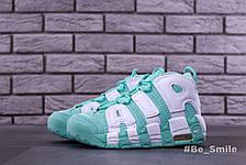 Кроссовки женские Nike Air Max Uptempo (бирюзовые) Top replic, фото 3