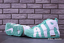 Кроссовки женские Nike Air Max Uptempo (бирюзовые) Top replic, фото 2