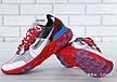 Кроссовки мужские Undercover - Nike React Element 87 (красные-серые)   Top replic, фото 5