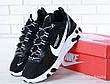 Кроссовки мужские Undercover - Nike React Element 87 (черные-белые) Top replic, фото 6