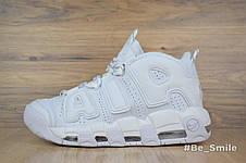 Кроссовки женские Nike Air Max Uptempo (белые) Top replic, фото 3
