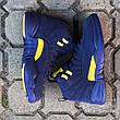 Кроссовки мужские Nike Air JORDAN 12 (синие) Top replic, фото 5