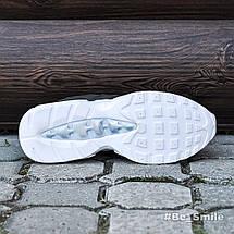 Кроссовки мужские Nike Air Max 95 (зеленые-камуфляж) Top replic, фото 3