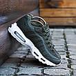 Кроссовки мужские Nike Air Max 95 (зеленые-камуфляж) Top replic, фото 2