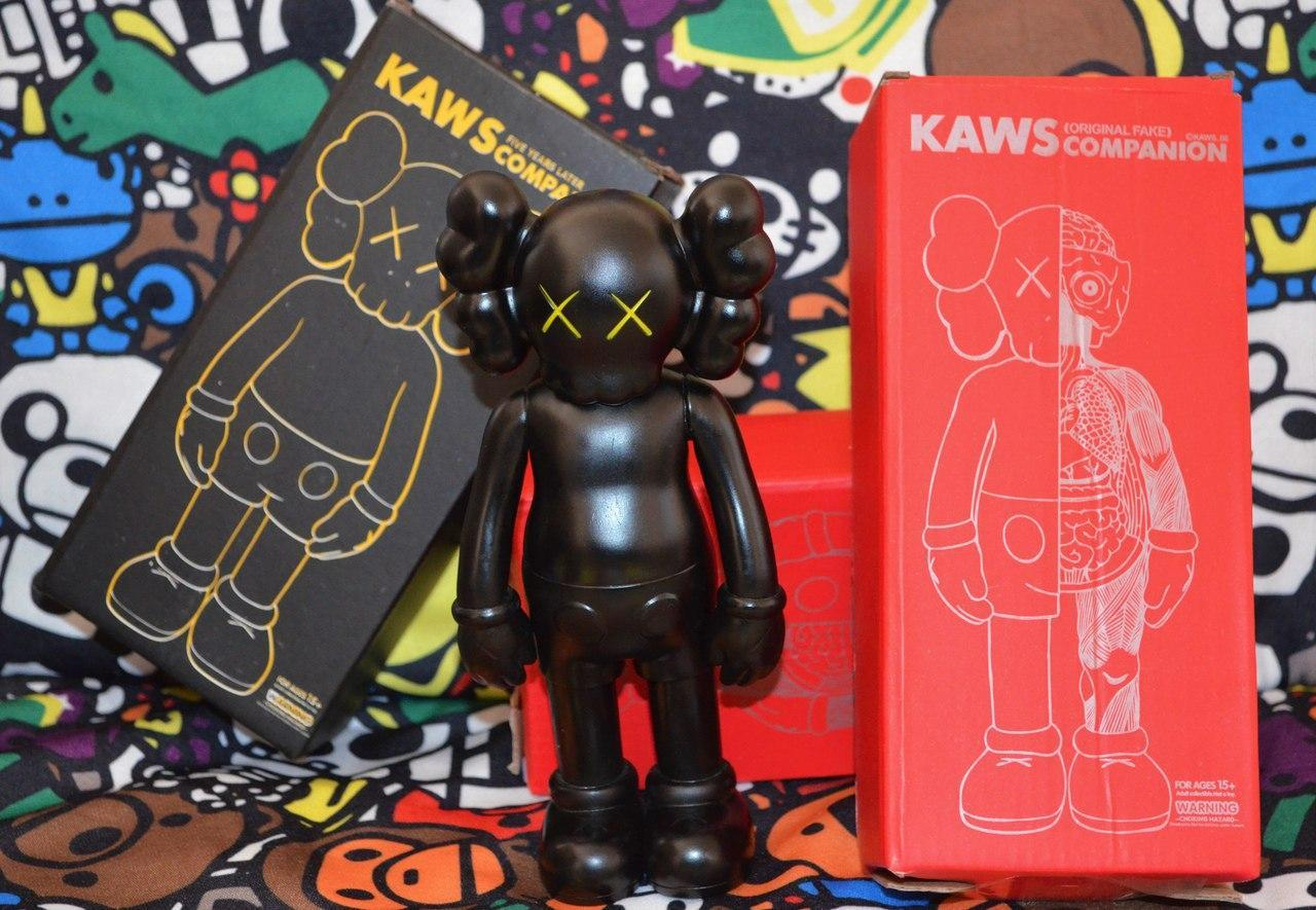 Игрушка Kaws Originalfake Dissected Companion black