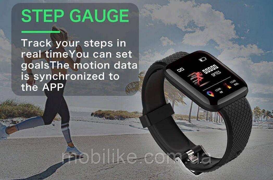 Функциональный фитнес трекер Smart Band 116