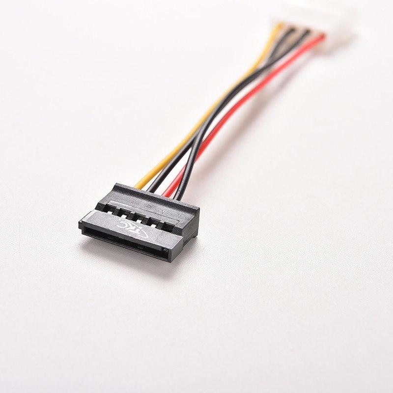 4 Pin IDE molex на 15 Pin SATA IDE-SATA жорсткого диска кабель адаптера живлення