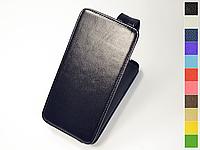 Откидной чехол из натуральной кожи для Xiaomi Redmi Note 8 Pro
