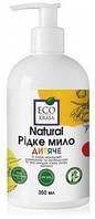 Жидкое мыло EcoKrasa детское с маслом макадамии, ромашки и календулы 350 мл
