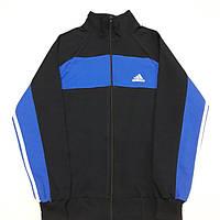 Мужская Спортивная кофта Adidas с лампасами р.48