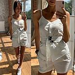 Женский костюм прогулочный Коттон майка и шорты (в расцветках), фото 6