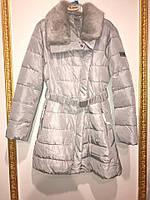 Детское пальто для девочки Верхняя одежда для девочек SILVIAN HEACH Италия MDJI6128PI Серый