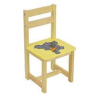 Детский стул Мася Слон 4042 Желтый 2-4042-67045, КОД: 293063
