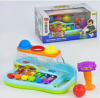 Детский музыкальный инструмент Play Smart Ксилофон Бряк-Звяк 9199 2-9199-1661, КОД: 1127589