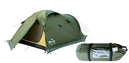 Палатка Tramp Mountain 3 м, TRT-023-green. Палатка туристическая 3 месная. палатка туристическая