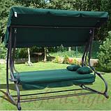 Качеля садовая Bonro Garden зеленая (80000014), фото 5