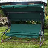 Качеля садовая Bonro Garden зеленая (80000014), фото 6