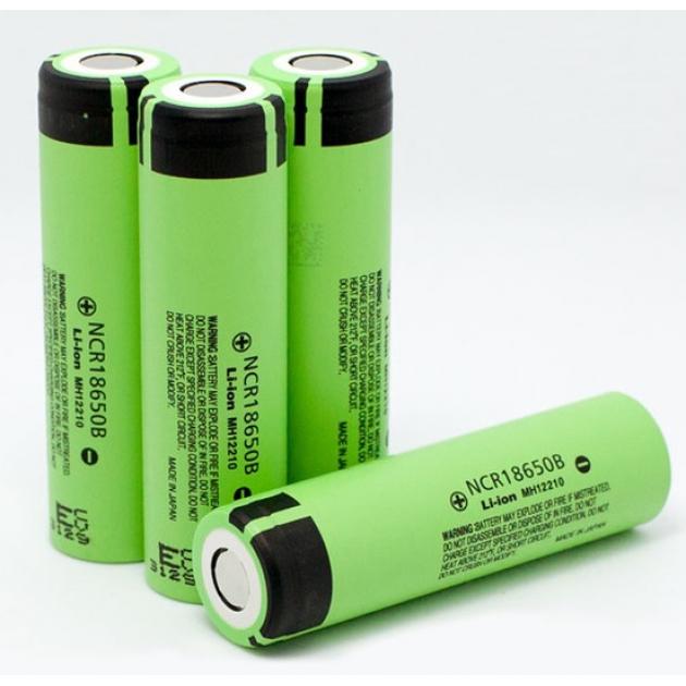 Литий-ионный аккумулятор 18650 Panasonic NCR18650B, 3400mAh, 3,7V