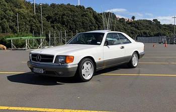 Mercedes S 1981-1992 (W126) Купе