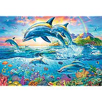 Пазлы Trefl 1500 эл. арт. 26162 Семейство дельфинов (85х58см) 40х27х6см