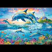 Пазли Trefl 1500 ел. арт. 26162 Сімейство дельфінів (85х58см) 40х27х6см