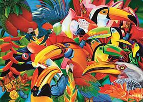 Пазлы Trefl 500 эл. арт. 37328 Красочные птицы (48х34см) 40х27х4,5см