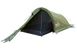 Намет Tramp Bike 2м, TRT-020-green Палатка туристична 2 місна. Намет туристичний