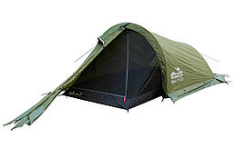 Палатка Tramp Bike 2 м, TRT-020-green Палатка туристическая 2 местная. палатка туристическая