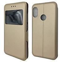 Чехол-книжка DK-Case на силиконе Magnetic 3D для Xiaomi Mi A2 Lite   Redmi 6 Pro Золотой 07829-72, КОД: 1672445