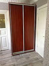 Шкаф-купе 170x60x240 см - две двери - зеркало или ДСП - МФ Влаби - Одесса