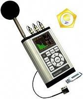 Шумомір, віброметри, аналізатор спектру АСИСТЕНТ TOTAL (SIU V3RT)