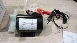 Насос для перекачування води 12/220V, 40 л/хв. Висота 12м