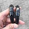 Чоловічий шкіряний браслет браслет з шкіри, чоловічий шкіряний, фото 9