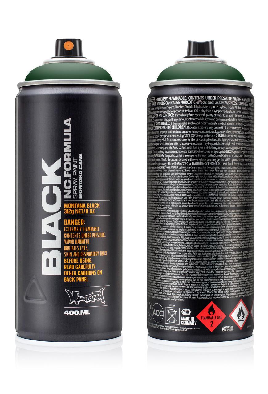 Краска Montana BLK6070 Зеленый тег (TAG Green) 400мл (263620)