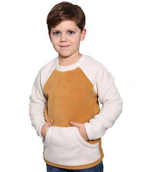 Флісова Кофта для хлопчика (на ріст 116-158 в кольорах)