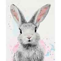Картины по номерам Сахарный кролик 40 х 50 ТМ Идейка КНО4067