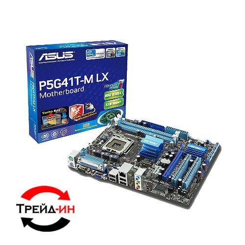 Asus P5G41T-M LX2/GB, б/у
