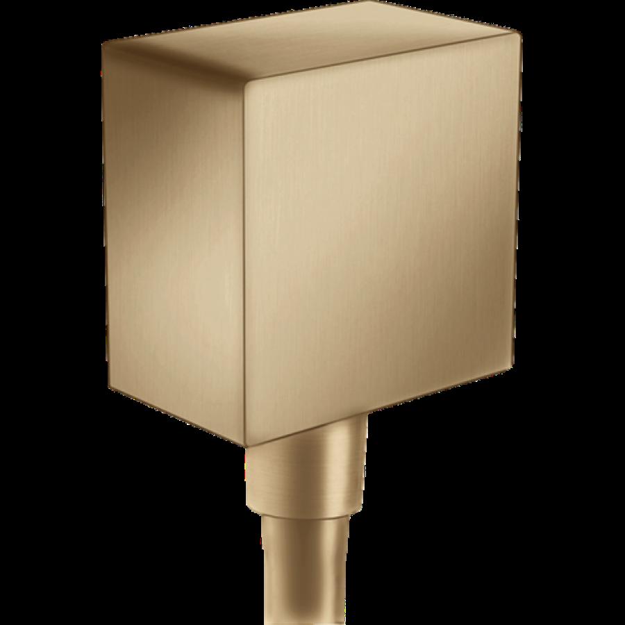 Шлангове під'єднання FixFit Brushed Bronze, 26455140