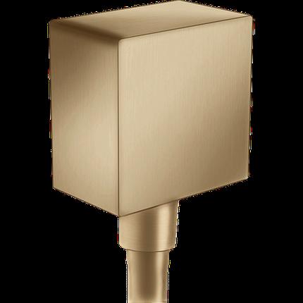 Шлангове під'єднання FixFit Brushed Bronze, 26455140, фото 2