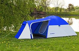 Палатка четырёхместная Acamper MONSUN4 синяя