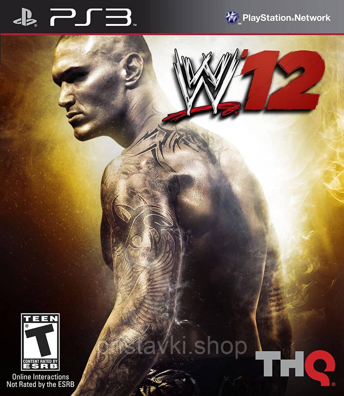 WWE `12 PS3