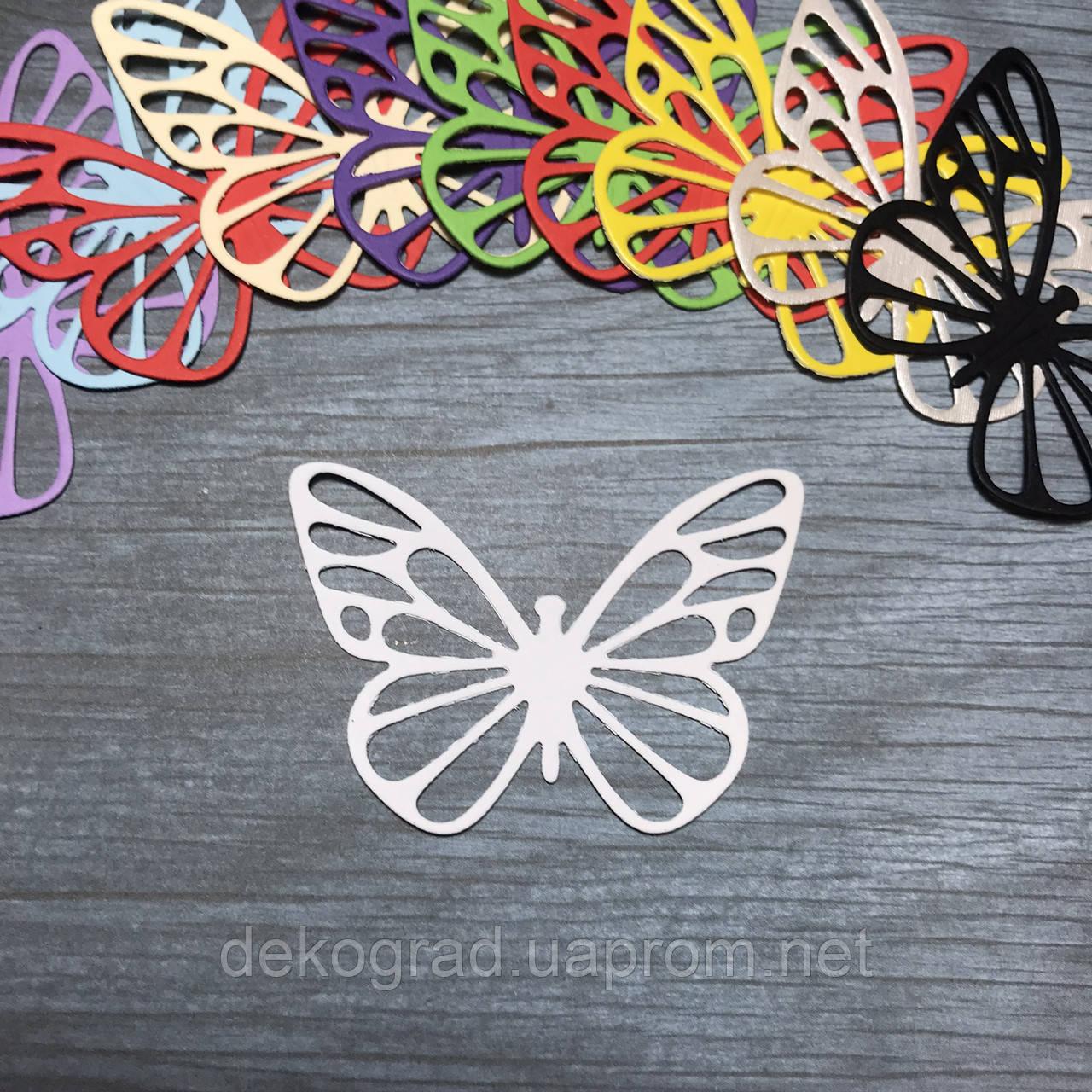 Вырубка Бабочка №6 6х4 см